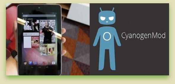 Installing CyanogenMod 10 on Nexus 7