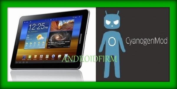Install CyanogenMod 10 on Galaxy 7.7 tab