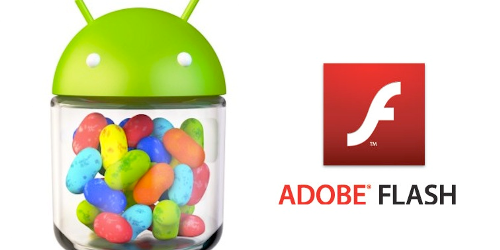 adobe flash player in jelly bean