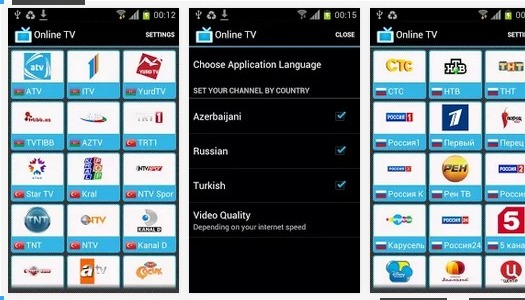 App: Online TV